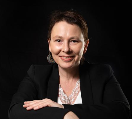 Lise Pathé, dirigeante de Liz à la Ligne