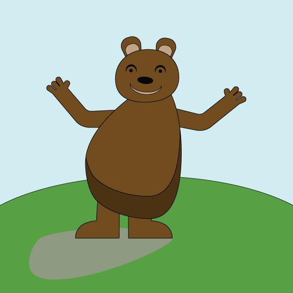 Illustration de Liz à la Ligne : ours